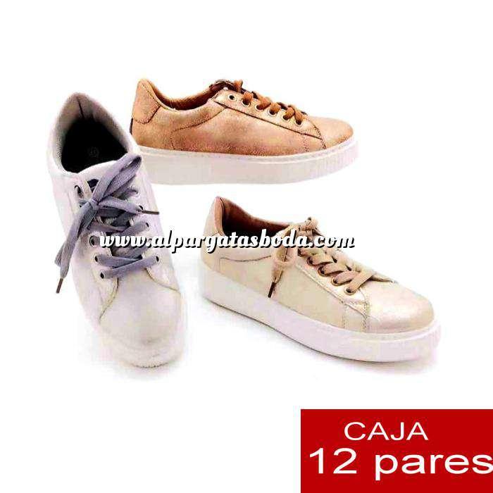 Imagen Alta Calidad Zapatillas casual estilo vintage - Caja de 12 pares (Últimas Unidades)