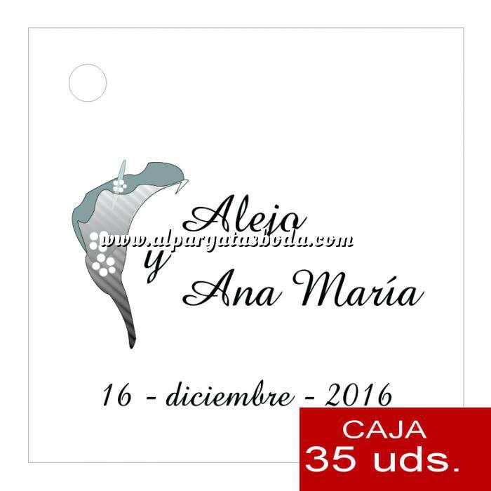 Imagen Etiquetas impresas Etiqueta Modelo A01 (Paquete de 35 etiquetas 4x4)
