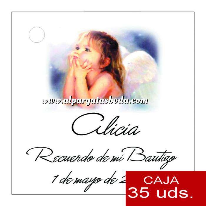 Imagen Etiquetas impresas Etiqueta Modelo B27 (Paquete de 35 etiquetas 4x4)