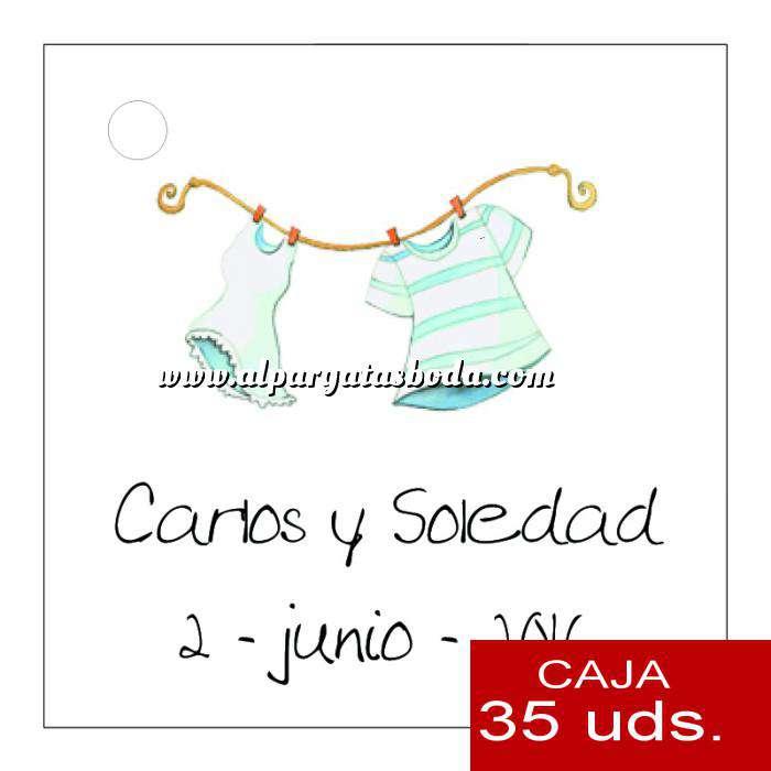 Imagen Etiquetas impresas Etiqueta Modelo E06 (Paquete de 35 etiquetas 4x4)