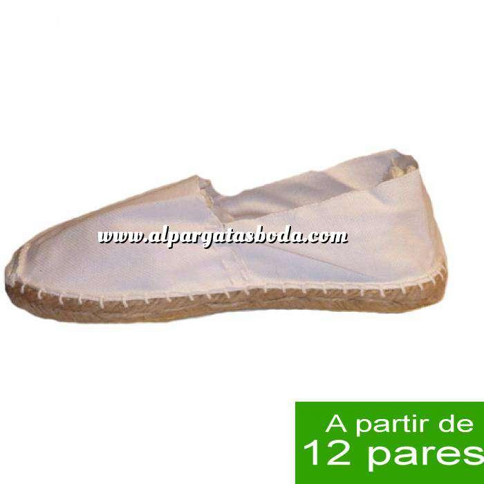 Imagen Mujer Cerradas Alpargatas cerradas MUJER color Blanco - A partir de 12 pares