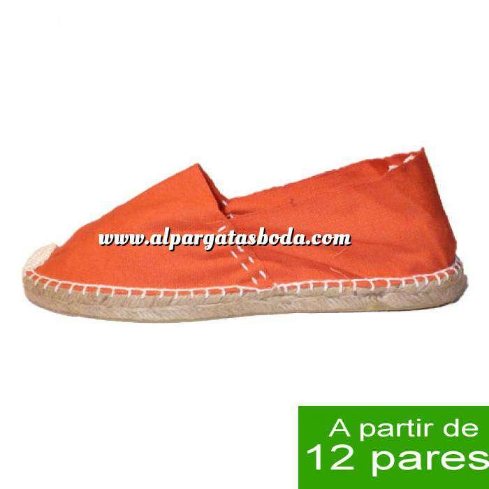 Imagen Mujer Cerradas Alpargatas cerradas MUJER color Naranja - A partir de 12 pares
