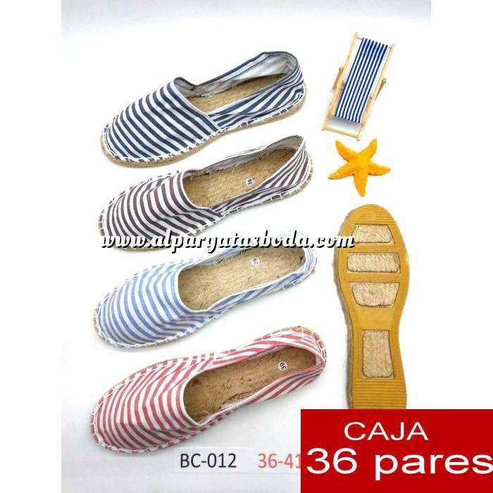 Imagen Mujer Estampadas Alpargata estampada RAYAS HERMOSAS Caja 36 pares - PRERESERVA JUNIO (Últimas Unidades)