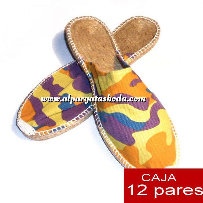 Imagen Para Hombres Alpargatas Abiertas HOMBRE Mimetizadas Amarillo caja 12 pares (Últimas unidades)