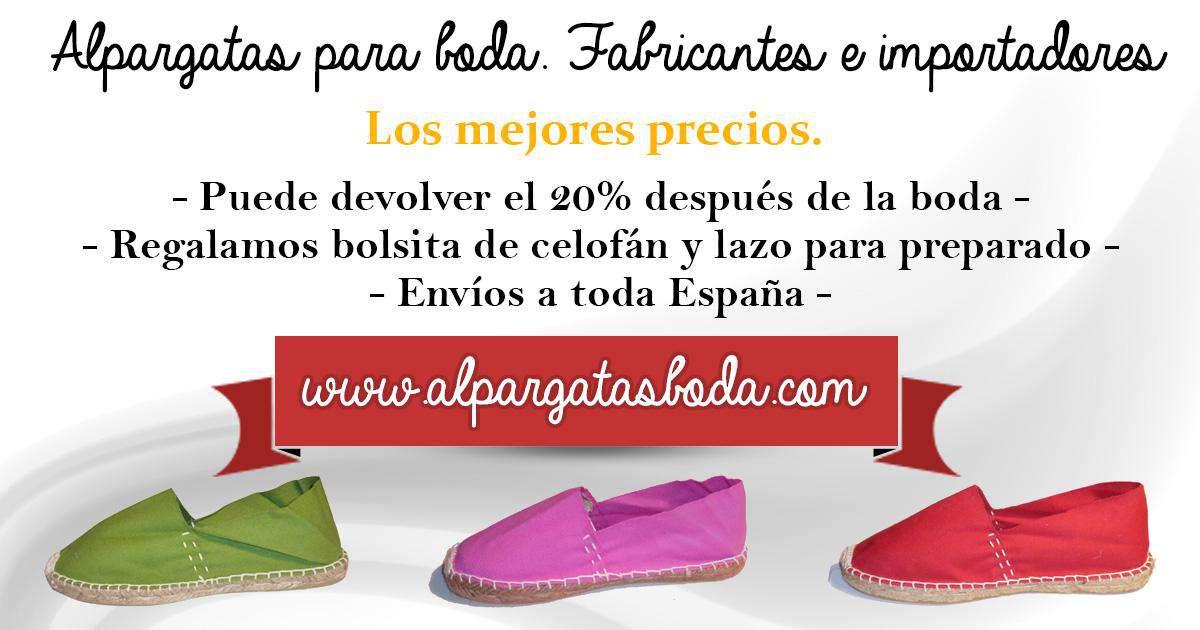 zapatillas de deporte para baratas f4892 bea46 Alpargatas. Venta al por mayor - Consejos sobre alpargatas