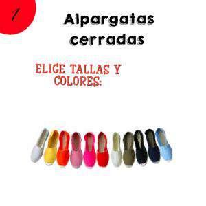 Alpargatas Cantidad libre_A MEDIDA
