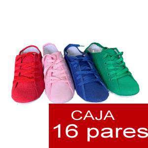 Alta Calidad - Bambas con cordones - Caja 16 pares (OFERTA ESPECIAL VERANO) (Últimas Unidades)