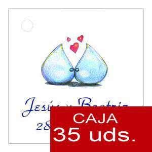 Etiquetas impresas - Etiqueta Modelo B07 (Paquete de 35 etiquetas 4x4)