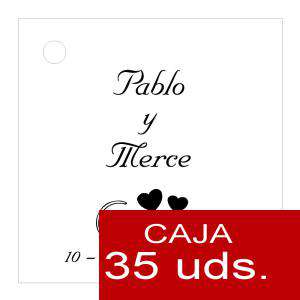 Etiquetas impresas - Etiqueta Modelo C01 (Paquete de 35 etiquetas 4x4)