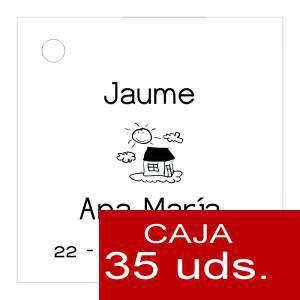 Etiquetas impresas - Etiqueta Modelo D03 (Paquete de 35 etiquetas 4x4)