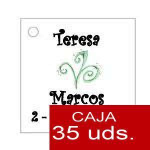 Imagen Etiquetas impresas Etiqueta Modelo E07 (Paquete de 35 etiquetas 4x4)