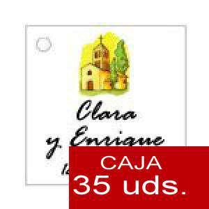 Imagen Etiquetas impresas Etiqueta Modelo E08 (Paquete de 35 etiquetas 4x4)