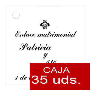 Etiquetas impresas - Etiqueta Modelo F03 (Paquete de 35 etiquetas 4x4)