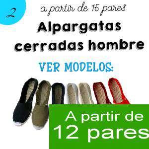Imagen Hombre Cerradas Alpargatas Cerradas HOMBRE color BLANCO - A partir de 12 pares