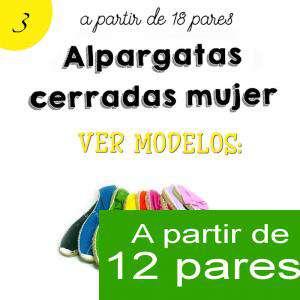 Imagen Mujer Cerradas Alpargatas cerradas MUJER color MORADO - A partir de 12 pares