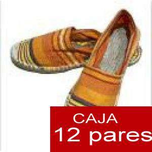 Mujer Estampadas - Alpargatas estampadas RAYAS ETNICAS 7 Caja 12 pares - OFERTA ULTIMAS CAJAS (Últimas Unidades) (duplicado) (duplicado) (duplicado)