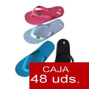 Sandalias y Chanclas - Chanclas brasil mujer Colores Surtidos - Caja de 48 pares