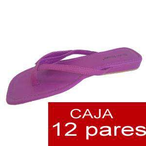 Imagen Sandalias y Chanclas Sandalias moradas - Caja de 12 pares (Últimas Unidades)