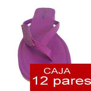 Imagen Sandalias y Chanclas Sandalias polipiel lisas - Caja de 12 pares (Últimas Unidades)