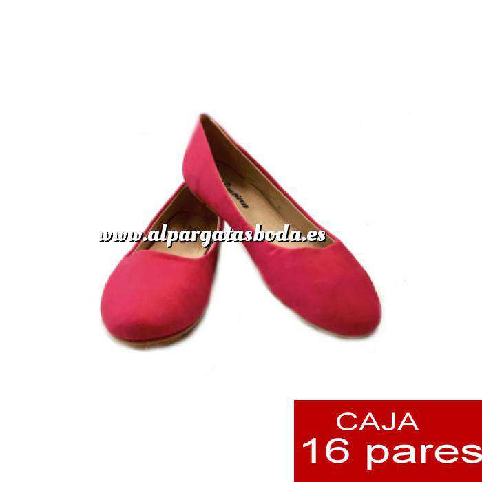 Imagen Alta Calidad Manoletinas Classic PINK - Caja 16 pares (Últimas Unidades)