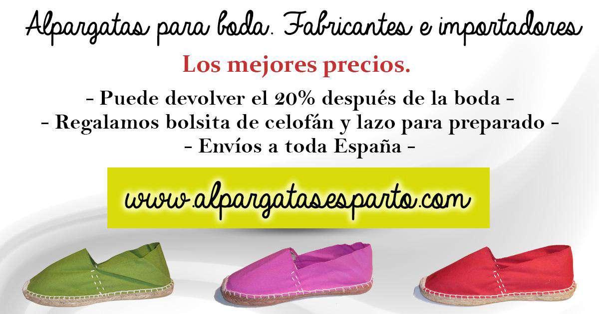 Alpargatas De Esparto Zapatos Para Niño Niña