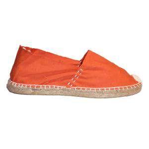 Imagen 419_CLASM Alpargata Clásica cerrada Mujer Naranja Talla 36