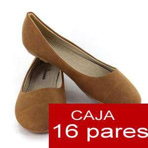 Alta Calidad - Manoletinas Classic CAMEL (caramelo) - Caja 16 pares (Ref. A806 Camel) (Últimas Unidades)