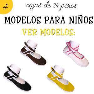 Bailarinas y Manoletinas_Modelos para Niños