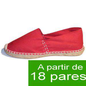Mujer Cerradas - Alpargatas Cerradas MUJER color Rojo - A partir de 18 pares