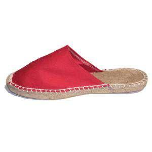 Rojo - ABRM Alpargata Abierta Mujer Rojo Talla 35