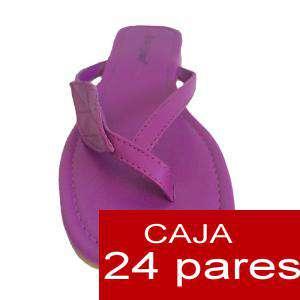 Imagen Sandalias y Chanclas Sandalias polipiel lisas - Caja de 24 pares (Últimas Unidades)