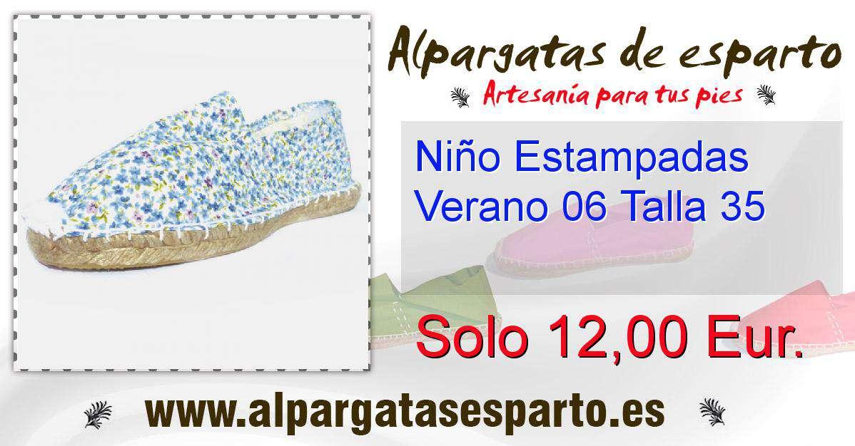 Verano 06 35 Estampadas Niño Talla AjL4R5q3