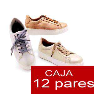 Alta Calidad - Zapatillas casual estilo vintage - Caja de 12 pares (Últimas Unidades)