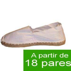 Mujer Cerradas - Alpargatas cerradas MUJER color Blanco - A partir de 18 pares