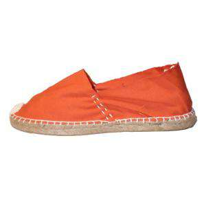Naranja - CLASN Alpargata Clásica cerrada Naranja Talla 28