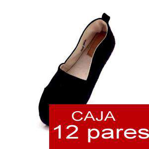 Alta Calidad - Mocasín NEGRO - Caja de 12 pares (Últimas Unidades)