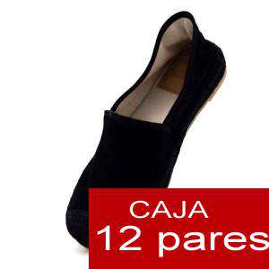 Alta Calidad - Mocasín NEGRO detalle - Caja de 12 pares (Últimas Unidades)