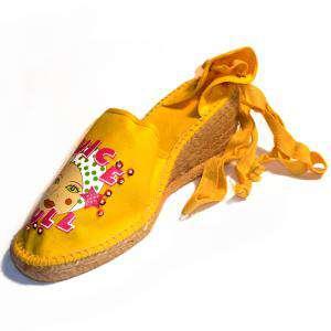 Amarillo - Mujer valenc. Diseño CH2267 Amarillo Talla 37