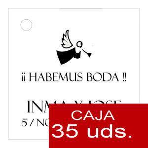 Etiquetas impresas - Etiqueta Modelo B01 (Paquete de 35 etiquetas 4x4)