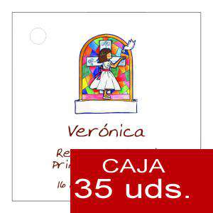 Etiquetas impresas - Etiqueta Modelo B21 (Paquete de 35 etiquetas 4x4)