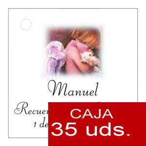 Etiquetas impresas - Etiqueta Modelo B26 (Paquete de 35 etiquetas 4x4)