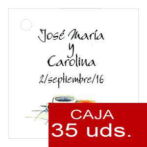 Etiquetas impresas - Etiqueta Modelo C15 (Paquete de 35 etiquetas 4x4)