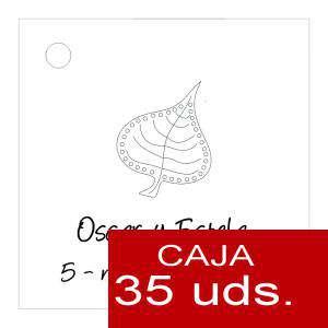 Etiquetas impresas - Etiqueta Modelo F02 (Paquete de 35 etiquetas 4x4)