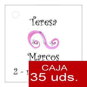 Etiquetas impresas - Etiqueta Modelo F07 (Paquete de 35 etiquetas 4x4)