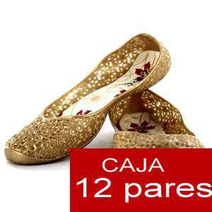 Modelos Economicos - Manoletinas Melissa M.311 GOLD - Lote de 12 pares (Tallaje 2)- TALLAJE 36 a 39 (Últimas Unidades)