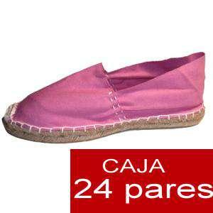 Mujer Cerradas - Alpargatas cerradas MUJER color ROSA - caja 24 pares (Últimas Unidades)