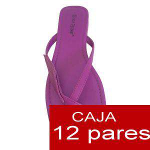 Sandalias y Chanclas - Sandalias moradas - Caja de 12 pares (Últimas Unidades)