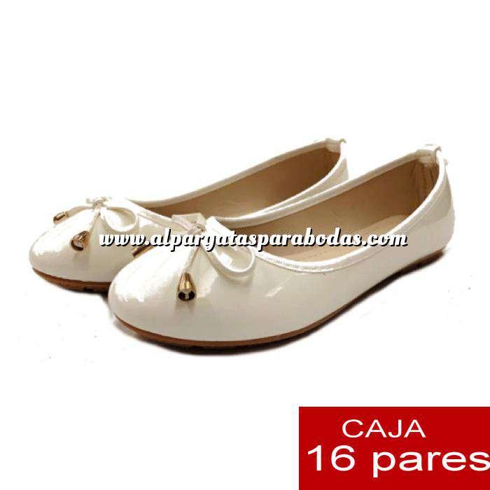 Imagen Alta Calidad Manoletinas 808 BEIGE - Caja 16 pares (Últimas Unidades)