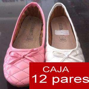 Alta Calidad - Manoletinas con lazo Modelo 08 Rosa (REF A 8202) caja 12 pares (OFERTA Últimas unidades) (Últimas Unidades)