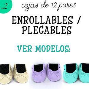 Bailarinas y Manoletinas_Enrollables/Plegables